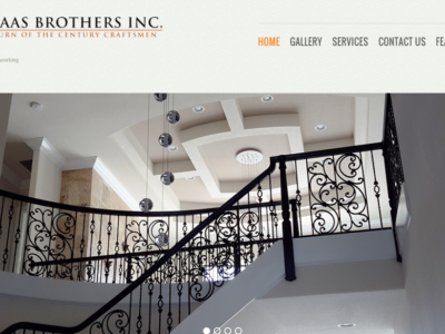 Haas Brothers - New Port Richey Website Design client