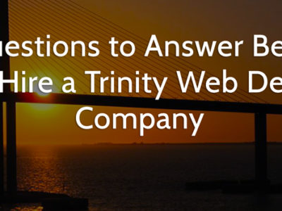 Trinity web design