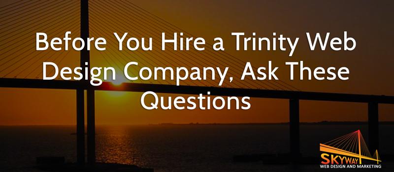 Trinity web design company