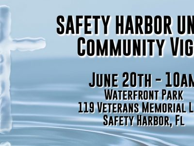 Safety Harbor Unity Vigil - Saturday June 20, 2020